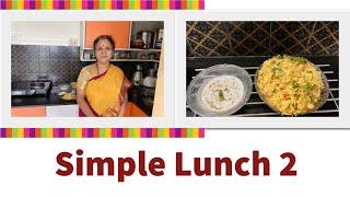 Simple Lunch 2 !!                   Easy,  Healthy    , Tasty !!