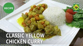 Classic Yellow Chicken Curry Recipe | Flame On Hai | Continental  Food