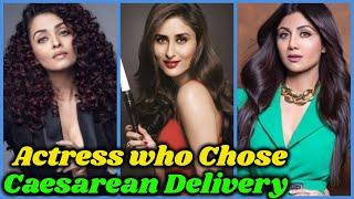 Bollywood Actresses Who Chose Caesarean Baby Delivery
