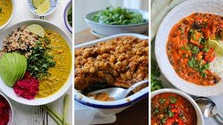 PLANT-BASED MEALS // Warming Winter Ideas