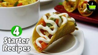 Starters Recipes | Appetizer Recipes | Quick & Delicious Party Starters | Vegetarian Starter Recipes