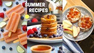 LAZY SUMMER BREAKFAST IDEAS ☀️ Vegan + Healthy