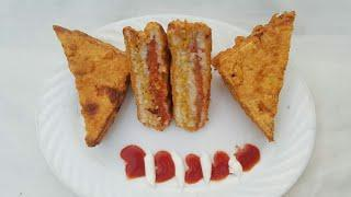 Loaded Sandwiches, Fried Sandwiches, Potato Egg Sandwiches, (Ramzan Special),  Easy Food Recipes