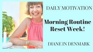 Morning Routine Reset Week! Wednesday - are you writing this down?! Flylady Summer 2020