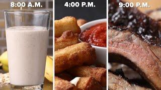Eat 3-Ingredient Recipes For An Entire Day • Tasty Recipes