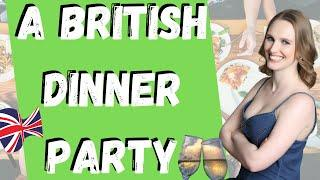 British Dinner Party Traditions (Advanced English)