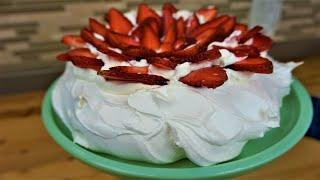 Easiest Strawberry Pavlova Recipe Ever - Mothers Day Desserts