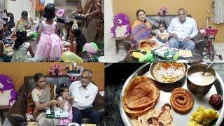My daughter's birthday party. Simple lunch menu.daily व्लोग्स.indian lifestyle with gauri.