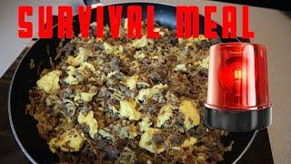 How to make A Delicious Survival meal ( Quick N Simple)