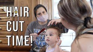 Summertime Living! | Very First Haircut & a Night of Grilling