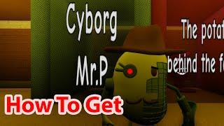 Roblox How To Get Cyborg Mr P Badge And Skin In Piggy RP Infection Shows Siren Cartoon Bakon Mothers