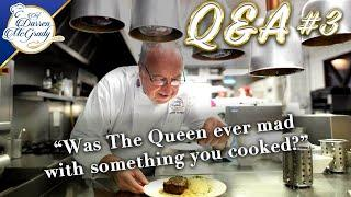 My Third Q & A Answering Your Questions On Cooking For The British Royal Family