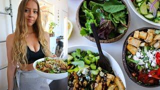 WHAT I EAT IN A WEEKEND + MEAL PREP & NATURAL CLEANING ROUTINE