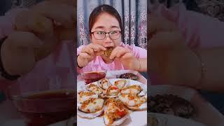 #Shots Video Seafood mukbang ASMR | Asian Food ASMR | ASMR  Show Eating by #VshareKH #140