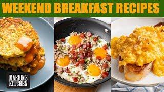 My go-to weekend breakfast recipes...inc. my BEST scrambled eggs ☀️☀️☀️