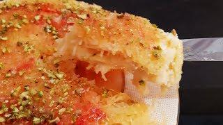 அரபிக்-குனஃபா/Arabic kunafa recipe without dough/Arabic desserts/Arabic sweets/vermicelli Kunafa