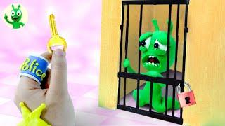 Why PEA PEA Is Arrested By Police - Stop Motion Play Doh Cartoons
