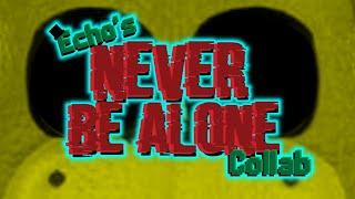 ⚠️Never Be Alone Collab⚠️ McFarlane/Lego FNaF Stop Motion