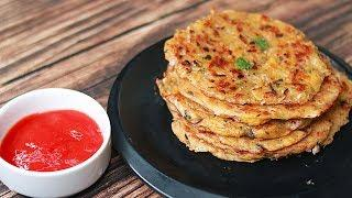 Potato Pancake | Potato Snacks Recipes | Easy Lunchbox Idea | Toasted