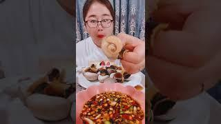#Shots Video Seafood mukbang ASMR | Asian Food ASMR | ASMR  Show Eating by #VshareKH #160