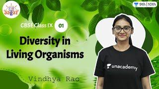 CBSE Class 9: Diversity in Living Organisms - L 1 | Aagaz | Unacademy Class 9 and 10 | Vindhya Rao