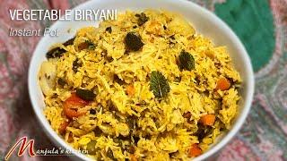 Vegetable Biryani using Instant Pot (One Dish Meal) Recipe by Manjula