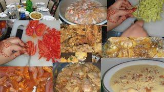 #Family party #get together | by sana | Dinner | Dawat #8 dishes in hour | sana's cooking