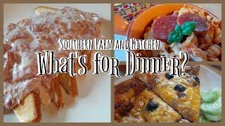 What's For Dinner? / Budget Meals/ Family Favorites/ Southern Farm and Kitchen