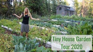 Life in a Tiny House called Fy Nyth - Garden Tour 2020