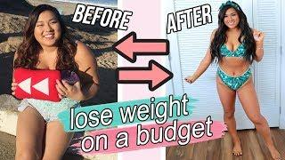 How To Lose Weight On A Budget! Meal Prep Recipes + Workout Ideas!