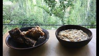 Eid Food Series: Yak's meat Hareesa and Supra from Hunza - BBCURDU