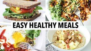 5 QUICK HEALTHY MEALS I EAT EVERY WEEK | meal prep, weight loss + healthy recipe ideas