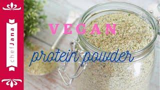 WHOLE FOOD PLANT BASED HOMEMADE PROTEIN POWDER FOR SMOOTHIES... AND FOR EVERYTHING ELSE! GLUTEN-FREE