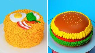 Best Buttercream Cake Decorating Ideas for Party | Most Satisfying Cake Decorating Video