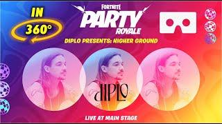 Fortnite Diplo Higher Ground Live Concert Event in 360° - Fortnite Party Royale in 360 VR