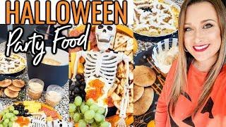 HALLOWEEN PARTY FOOD |  TACO DIP, EASY COOKIES, WITCHES BREW PUNCH |Cook Clean And Repeat