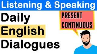 English Listening and Speaking Practice with Native Speakers and Short Dialogues to improve English!