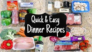WHAT'S FOR DINNER? | 5 Quick & Simple Recipes | Weeknight Meals Made EASY | Julia Pacheco