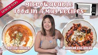 Microwavable Food In A Mug Recipes | Eatbook Cooks | EP 31