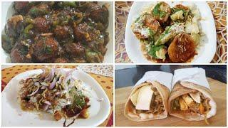 Let's Make Street Food At Home|| 4 Delicious Street Food Recipes