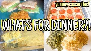 What's For Dinner? | 4 Easy Casserole Recipes | Easy Weeknight Dinners | Family Meals of the Week