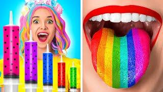 UNICORN, DON'T SNEAK FOOD INTO HOSPITAL! Funny Situations & Edible DIY Ideas by 123GO! SCHOOL