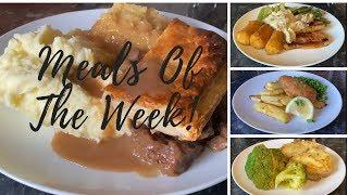 What's for tea this week? Meals of the week 27th April-3rd May :)