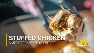 Stuffed Chicken With Feta: A Mediterranean Diet Recipe