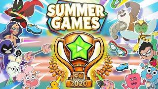 CN Summer Games 2020 - Gumball & Anais Compete in the Heat of the Summer Games (CN Games)