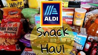 ALDI (Snack) Grocery Haul and Weekly Meal Plan