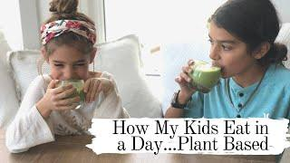 How My Kids Eat in a Day / Vegan/ Easy
