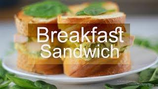FREEZER BREAKFAST SANDWICHES - French Food Recipe | Cook N Eat