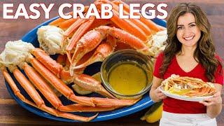 Crab Legs - 4 Easy Ways + Flavored Butter Sauce Recipe