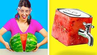 STUNNING HACKS FOR YUMMY MEALS! || Funny Food DIYs by 123 Go! Genius